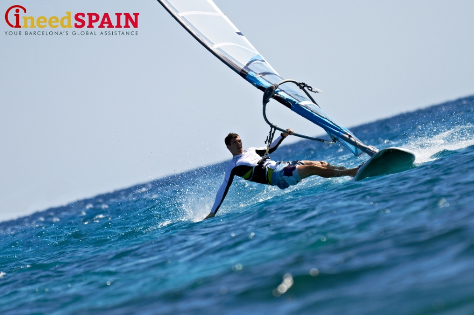 Maritime sports in barcelona